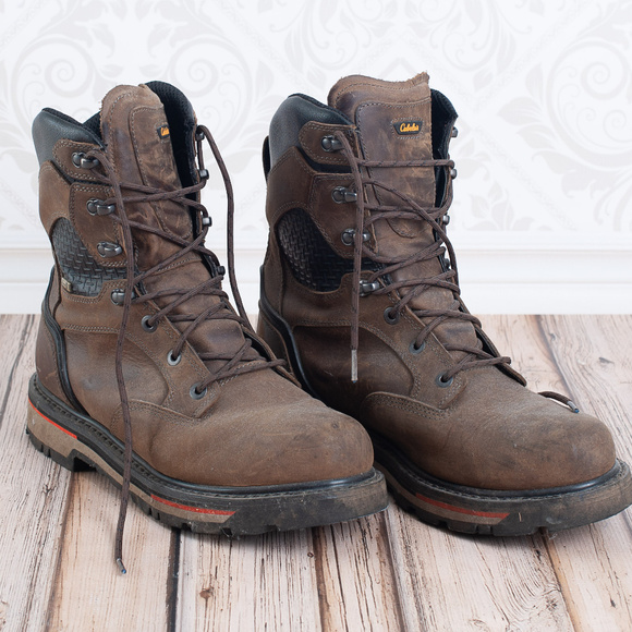 bc59885f2ec CABELAS ROUGHNECK OVERHAUL MENS WORK BOOTS